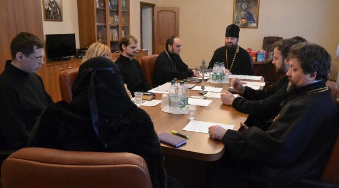 Состоялось заседание Ученого совета Якутской духовной семинарии