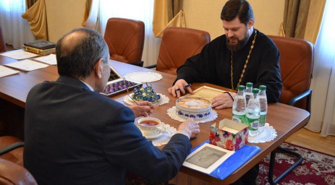 Состоялась встреча ректора Якутской духовной семинарии с президентом Академии наук РС(Я)