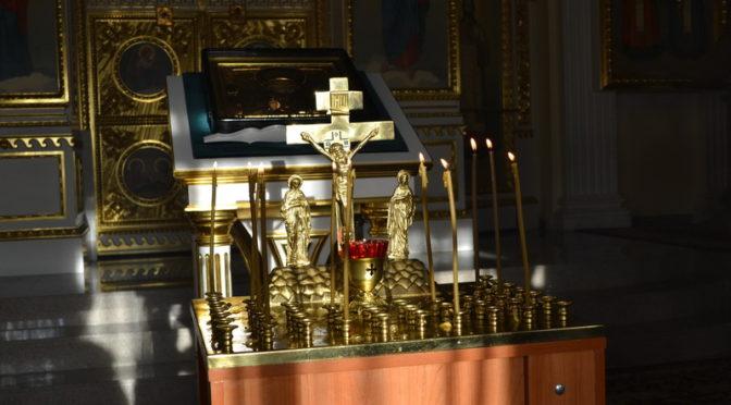 В домовом храме Якутской духовной семинарии молитвенно помянули воинов-якутян, павших в боях под Ржевом в 1942-1943 гг.