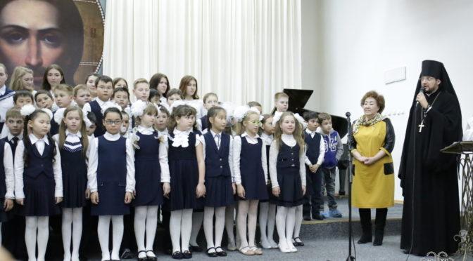В Большом зале семинарии прошел детский фестиваль искусств