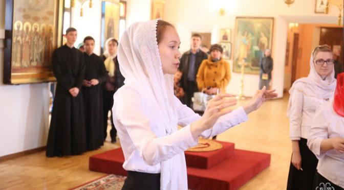 Отчетный концерт Епархиальных певческих курсов состоялся в кафедральном соборе