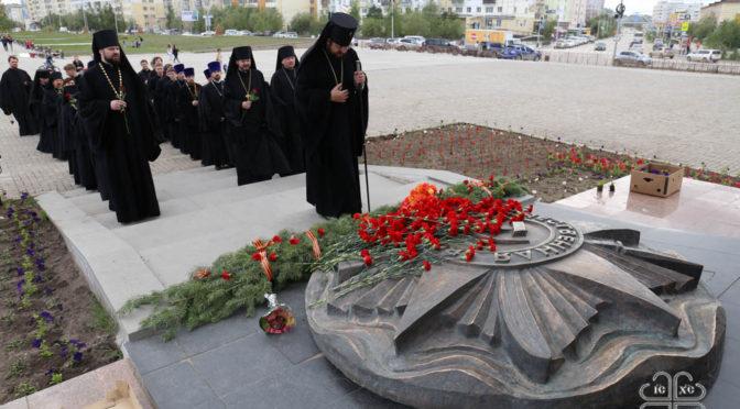 В Якутской епархии поминают погибших в годы Великой Отечественной войны