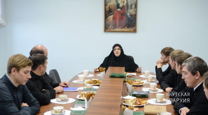 В Якутской духовной семинарии прошло заседание дискуссионного клуба