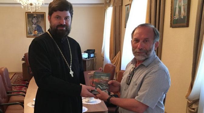 Якутскую духовную семинарию посетил известный писатель и драматург Владимир Федоров