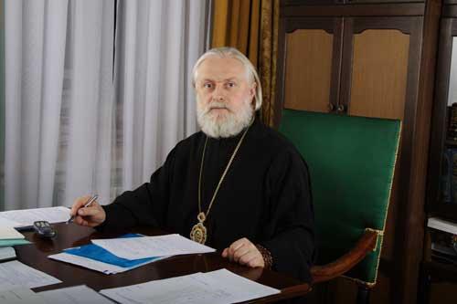 Участников Свято-Иннокентьевского форума приветствовал председатель Учебного комитета Русской Православной Церкви