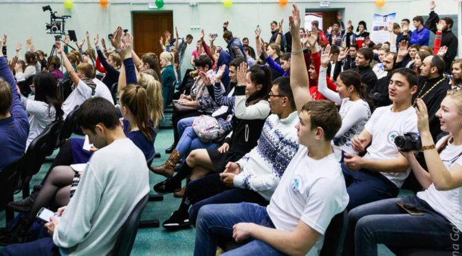 Преподаватели и студенты семинарии приняли участие в первом Молодежном медиафоруме Якутской епархии
