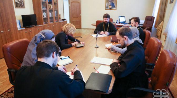 Ученый совет Якутской духовной семинарии подвел итоги учебно-воспитательной работы в первом полугодии