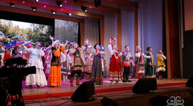 Преподаватели и студенты семинарии присутствовали на мероприятии, посвященном юбилею вхождения Якутии в состав России