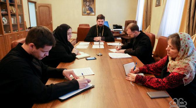 Прошло очередное заседание Ученого совета семинарии