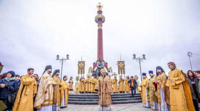 Преподаватели и студенты семинарии приняли участие в торжествах, посвященных 385-летию Православия на Якутской земле и дню основания города Якутска