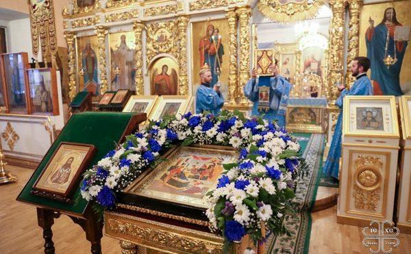 Праздничные богослужения в честь Рождества Пресвятой Богородицы