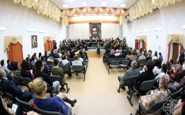 В Якутской духовной семинарии прошел концерт государственного оркестра Якутии Symphonica ARTica