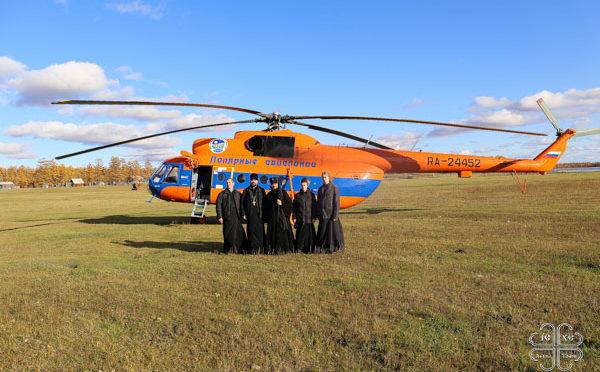 Ректор, преподаватели и студенты семинарии приняли участие в архипастырской поездке в Горный улус Якутии