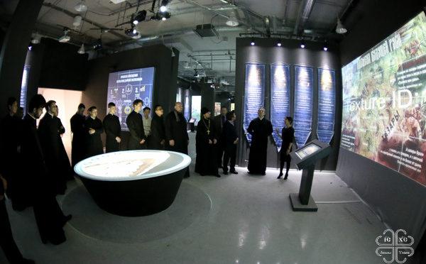 Участники Свято-Иннокентьевского форума первыми посетили исторический парк «Россия — моя История», открывающий скоро в Якутске