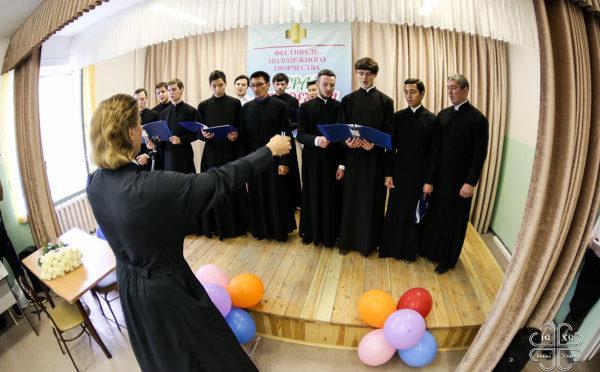 По благословению архиепископа Романа в Якутске прошел традиционный фестиваль молодежного творчества