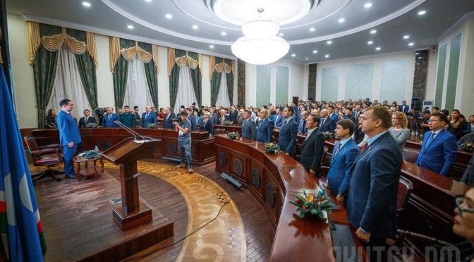 Ректор принял участие во встрече с главой города Якутска