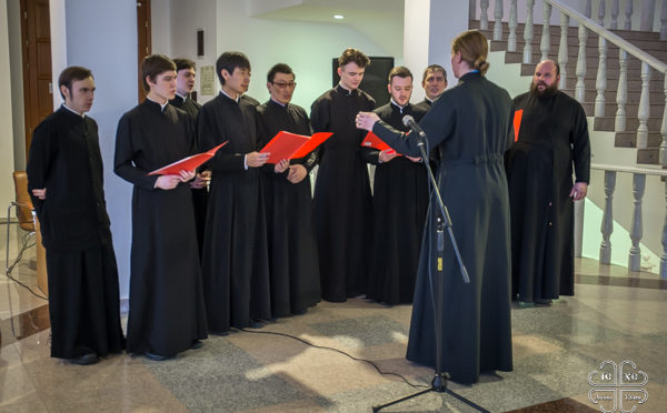 Преподаватели и студенты семинарии приняли участие в открытии выставки, посвященной епископу Зосиме (Давыдову)