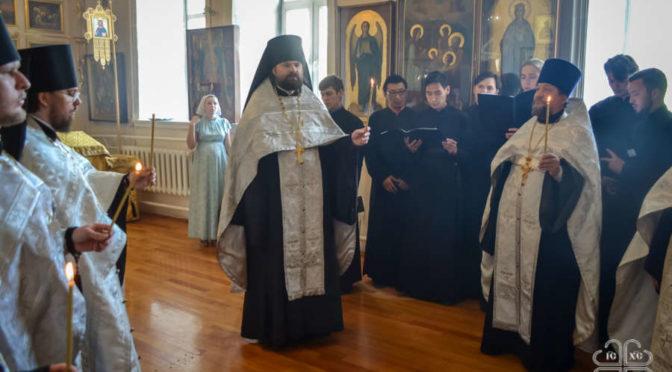Панихида в день памяти епископа Иакова (Домского)