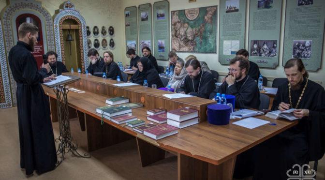 Выпускной междисциплинарный экзамен в Якутской духовной семинарии