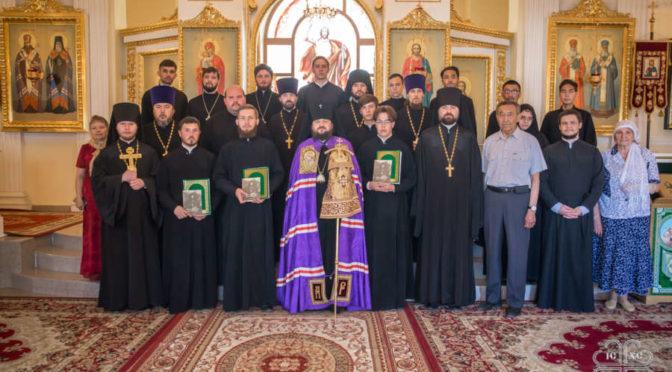 Выпуск в Якутской духовной семинарии