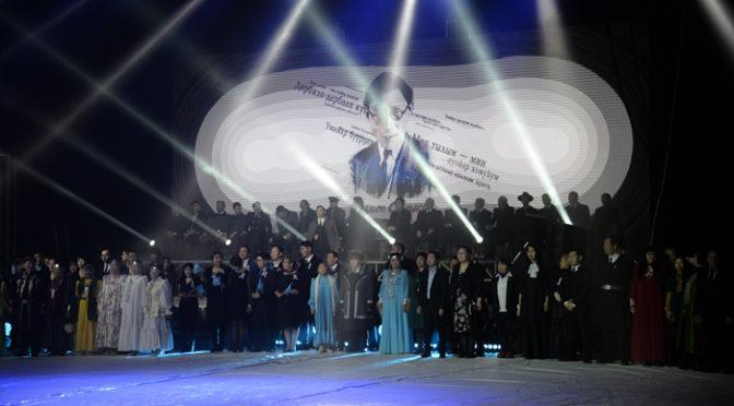 Преподаватели и студенты семинарии приняли участие в мероприятиях посвященных памяти П. А. Ойунского