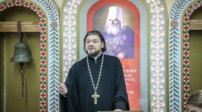 Представитель Семинарии принял участие в работе круглого стола «Деятельность индивидуальных наставников в духовных учебных заведениях Русской Православной Церкви»