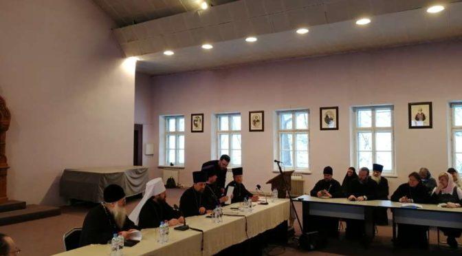 Проректор семинарии принял участие во встрече с председателем ОВЦС и Учебного комитета
