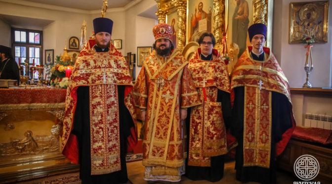 Преподаватель и выпускники Семинарии удостоены богослужебно-иерархических наград