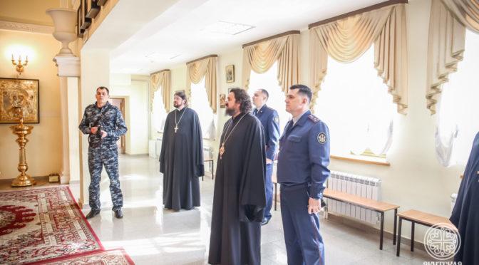 Начальник ФСИН по Республике Саха (Якутия) посетил Якутскую духовную семинарию