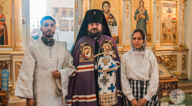 Выпускник Семинарии рукоположен в сан диакона
