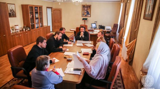 Состоялось первое заседание административного совета Якутской духовной семинарии