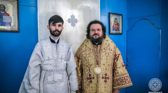 В день памяти святителя Иннокентия студент Семинарии рукоположен в сан диакона