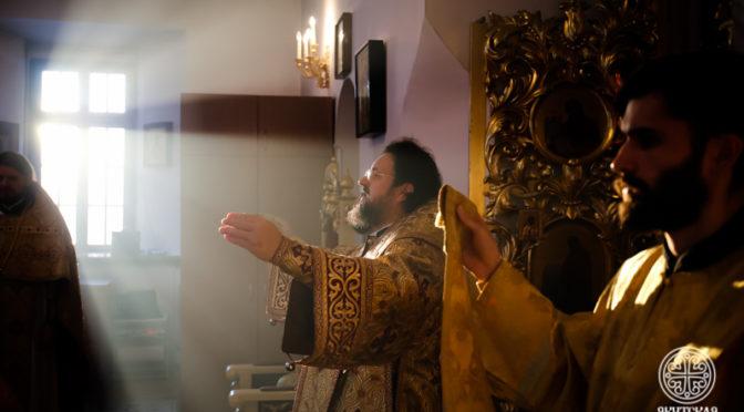 Первое воскресное богослужение Рождественского поста