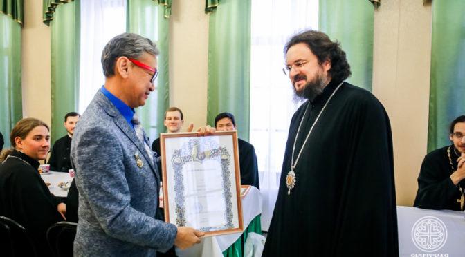 Старший преподаватель кафедры общеобразовательных и церковно-исторических дисциплин удостоен ученого звания доцента.