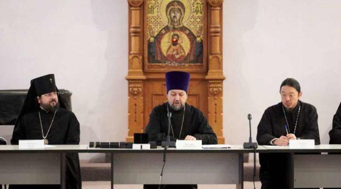 Архиепископ Якутский и Ленский Роман принял участие во встрече с руководством Учебного комитета