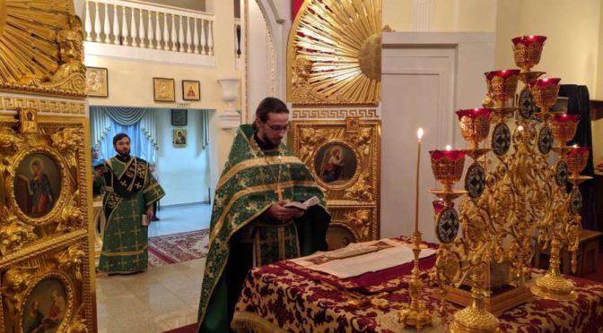 В Якутской духовной семинарии почтили память прп. Серафима Саровского