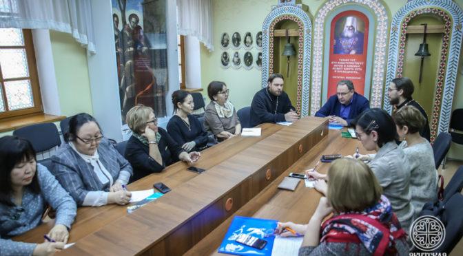 В Якутской духовной семинарии прошел круглый стол «Взаимодействие церковной и государственной библиотечных систем»