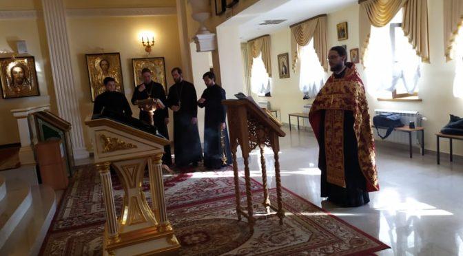 Состоялся молебен свт. Иннокентию Московскому