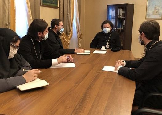 Ректор Семинарии встретился с представителями администрации