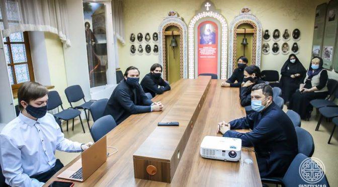 В день памяти свт. Иннокентия Московского в Якутской духовной семинарии состоялась презентация нового епархиального фильма