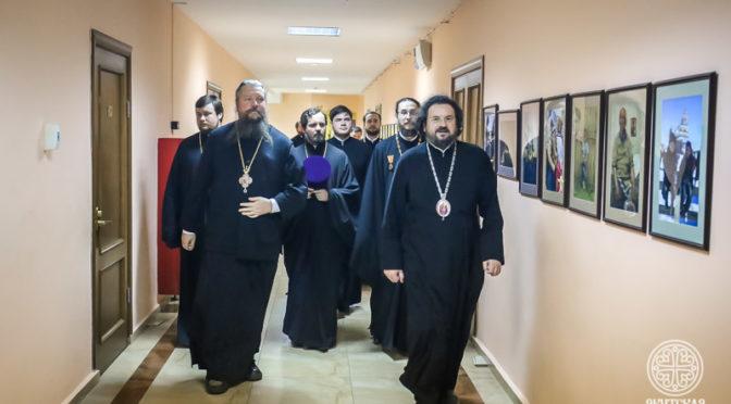 Управляющий делами Московской Патриархии посетил Якутскую духовную семинарию
