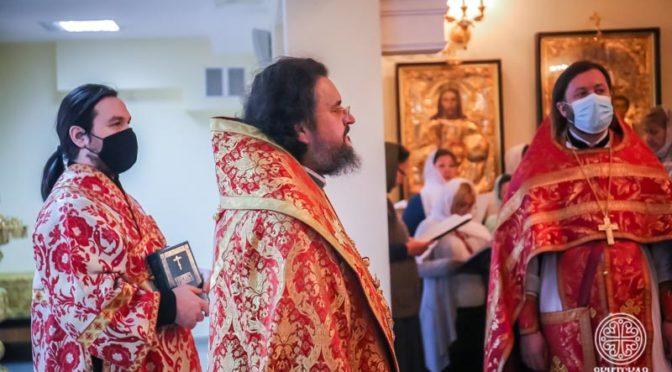 Богослужение в день памяти святой мученицы Татианы