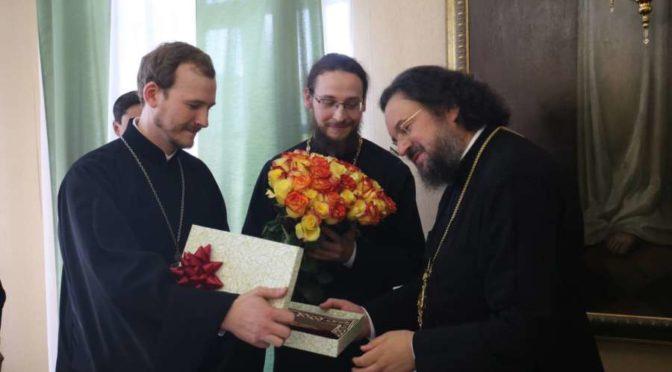 Поздравления архиепископу Якутскому и Ленскому Роману с 10-летием архиерейской хиротонии